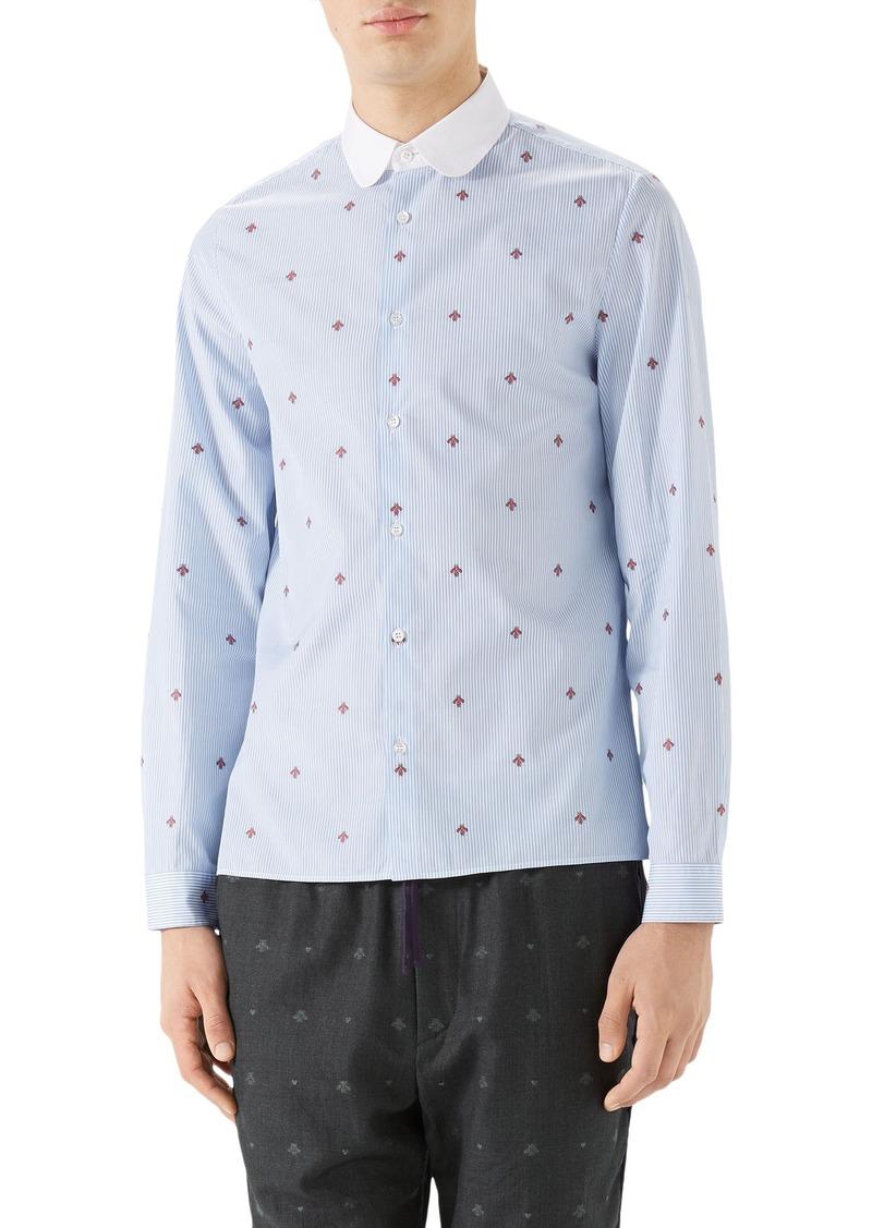 c33b1b7b34f Gucci Contrast Collar Polo Shirt