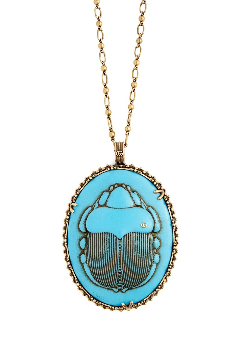 2b3a5ffc0 Gucci Gucci Beetle necklace | Jewelry