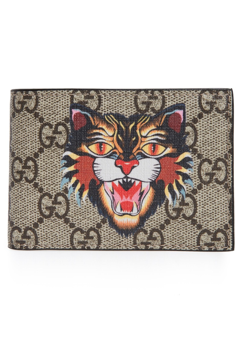 bd00ee6356173c Gucci Gucci Bestiary Cat Wallet | Bags