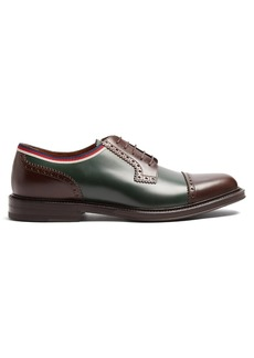 Gucci Beyond leather derby shoes