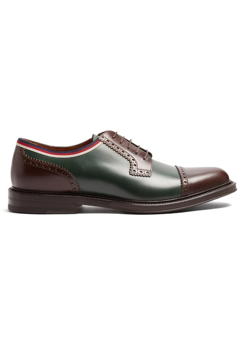 b83cd41f8a4 Gucci Gucci Beyond leather derby shoes