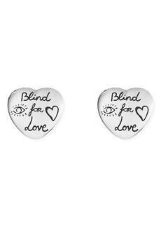 Gucci Blind for Love Stud Earrings
