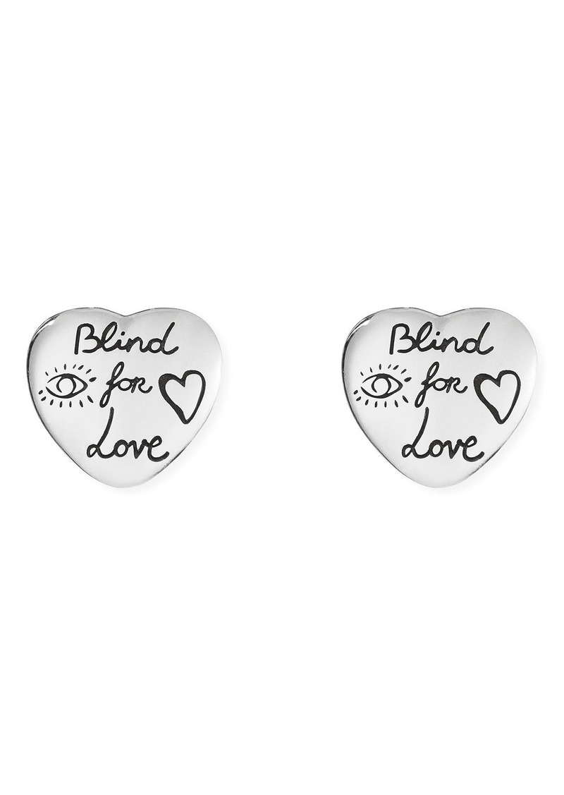 9597a01592d Gucci Gucci Blind for Love Stud Earrings