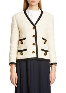 Gucci Bouclé Tweed Jacket