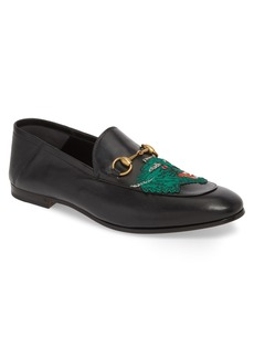 Gucci Brixton Embroidered Loafer (Men)