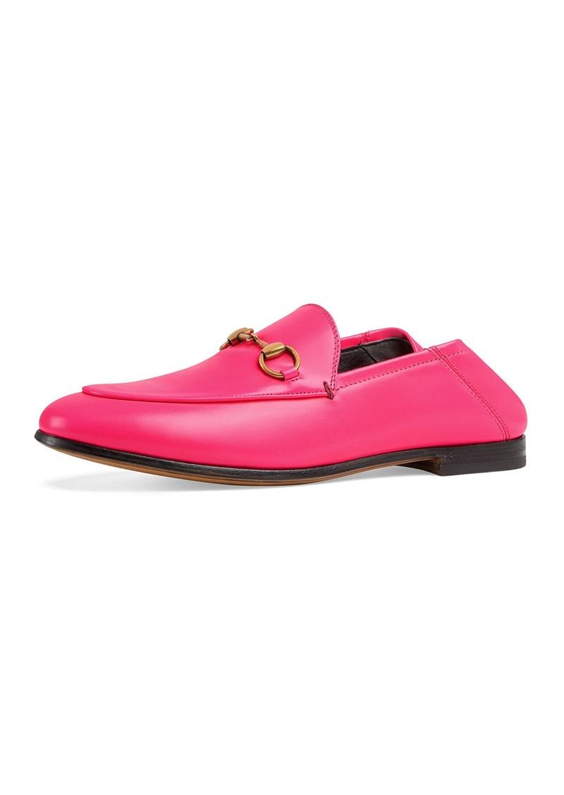4b194de64c3 Gucci Gucci Brixton Neon Leather Horsebit Loafers