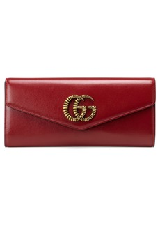 Gucci Broadway Leather Envelope Clutch