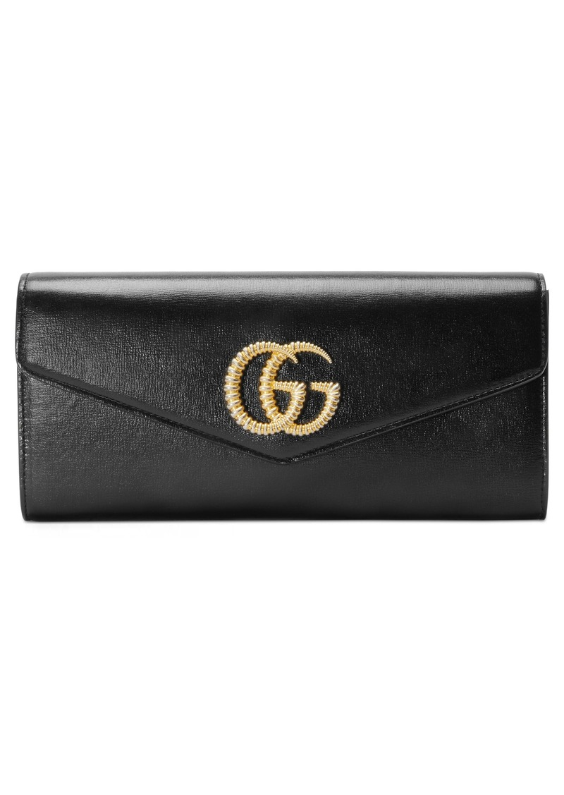 GucciLeather Evening Clutch