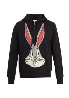 Gucci Bugs Bunny cotton hooded sweatshirt