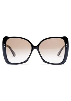 Gucci Butterfly acetate sunglasses