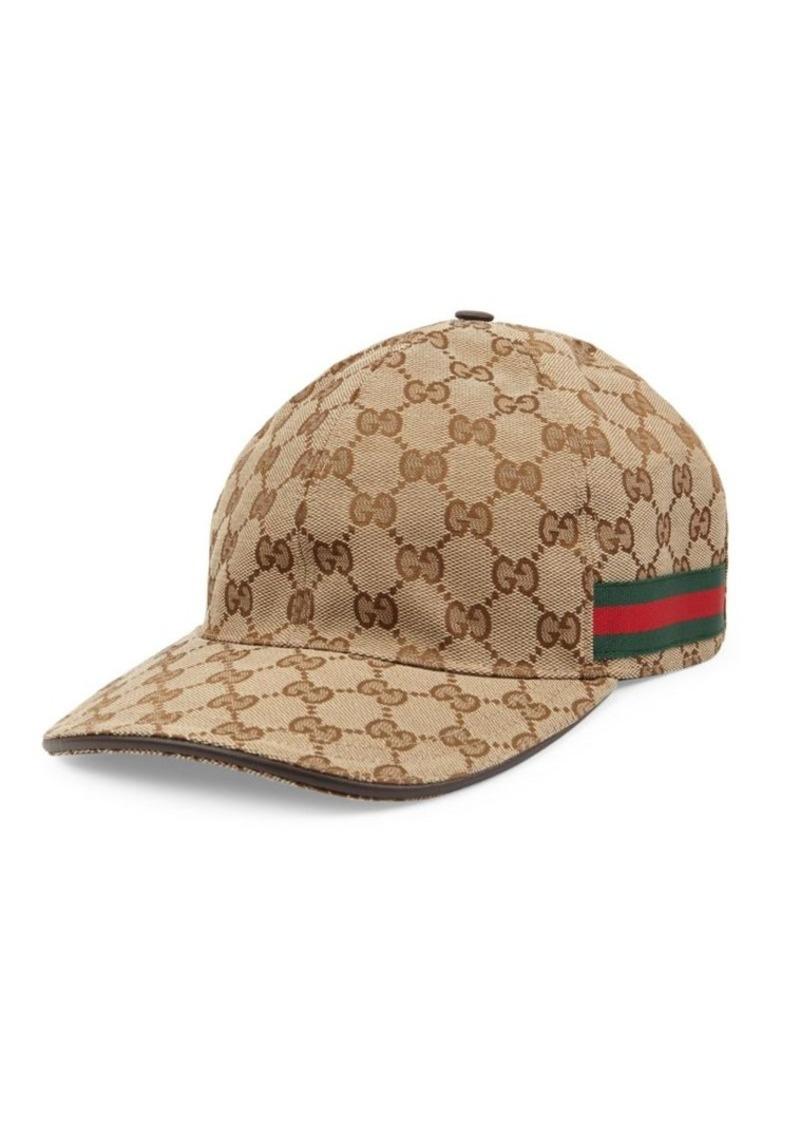 aee991c9e21 Gucci Canvas Baseball Hat