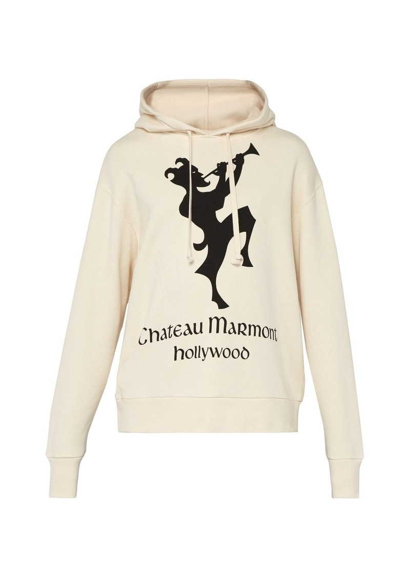 1c7eefa78c9 Gucci Gucci Chateau Marmont floral hoody