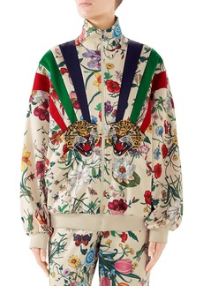 Gucci Chateau Marmont Floral Print Track Jacket