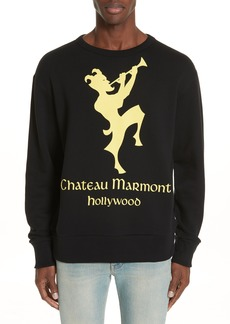 Gucci Chateau Marmont Graphic Sweatshirt