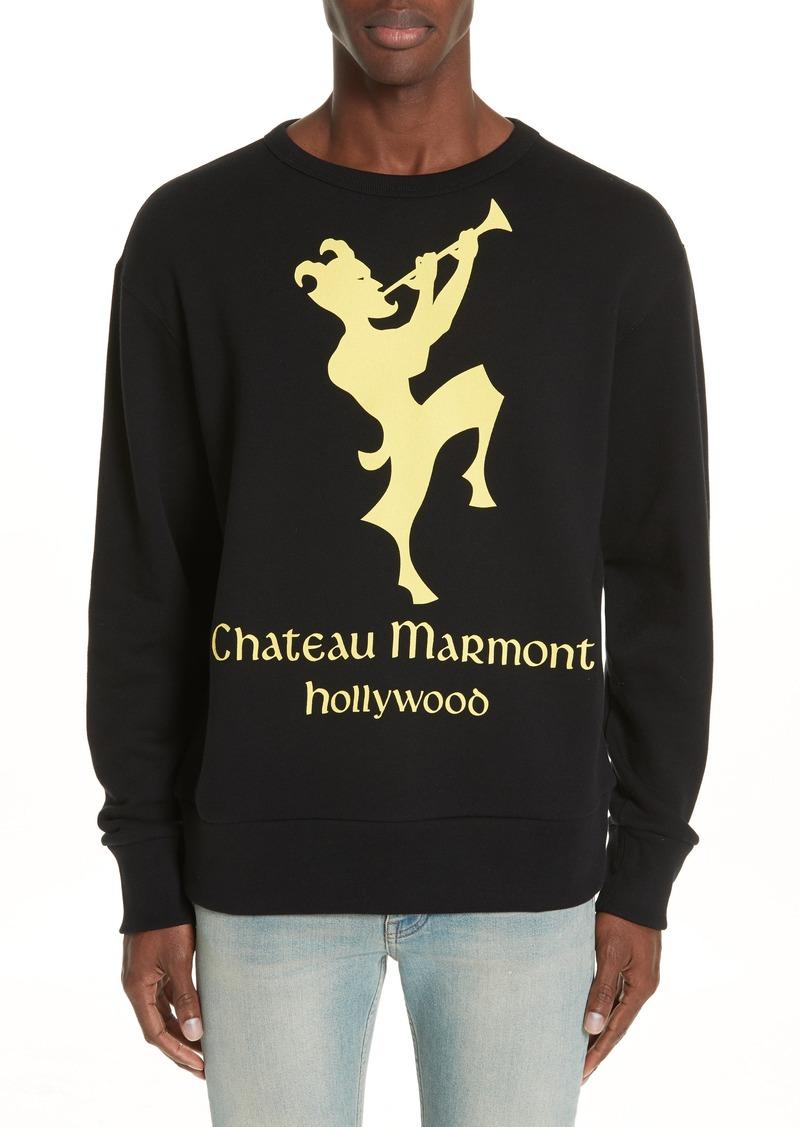 cfa10803e9b6 Gucci Gucci Chateau Marmont Graphic Sweatshirt | Outerwear