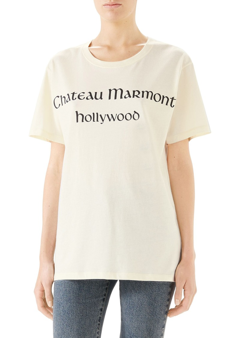 Gucci ChateauGraphic Tee
