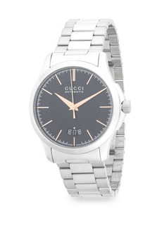 Gucci Classic Stainless Steel Automatic Bracelet Watch
