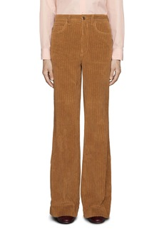 Gucci Corduroy Flare Pants