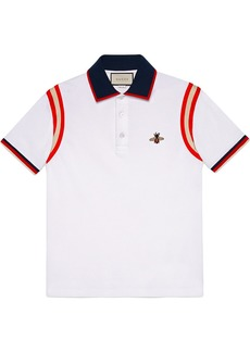 Gucci Cotton polo with bee