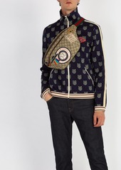 7762a6d70a10 Gucci Courrier GG Supreme belt bag Gucci Courrier GG Supreme belt bag ...