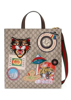 Gucci Courrier soft GG Supreme tote
