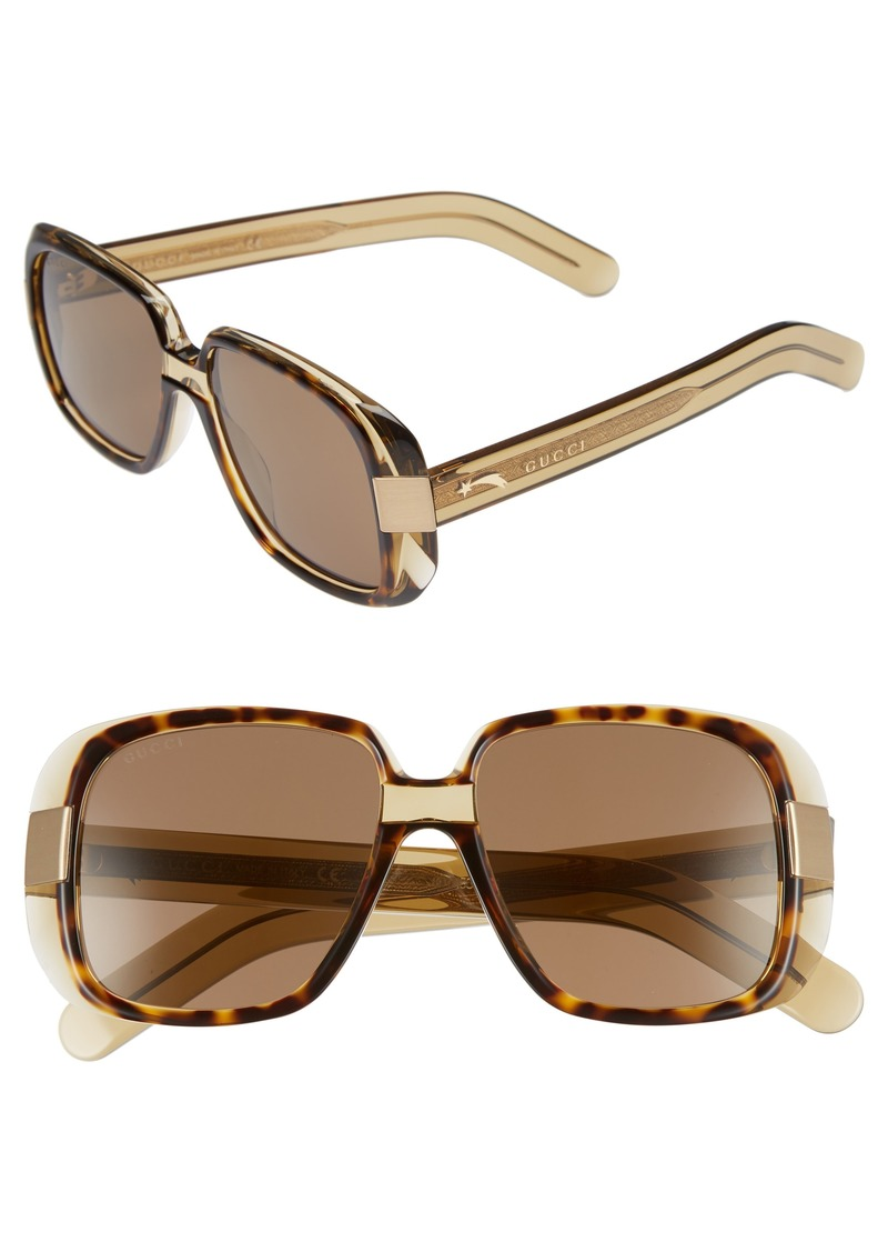 5982550de73 Gucci Gucci Cruise 51mm Square Sunglasses