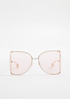 Gucci Cruise Snake Sunglasses