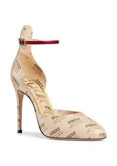 Gucci Daisy Ankle Strap Pump (Women)