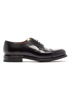 Gucci Darko leather derby shoes