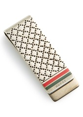 Gucci 'Diamantissima' Silver Money Clip