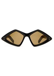 Gucci Diamond acetate sunglasses