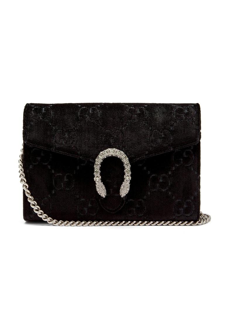 908c54ea19a1 Gucci Gucci Dinoysus GG velvet mini shoulder bag   Handbags