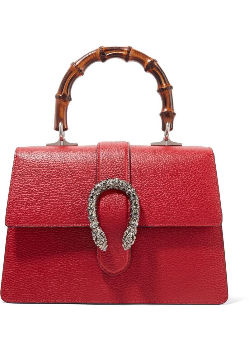 039365c19a36 Gucci Dionysus Bamboo medium textured-leather tote   Handbags