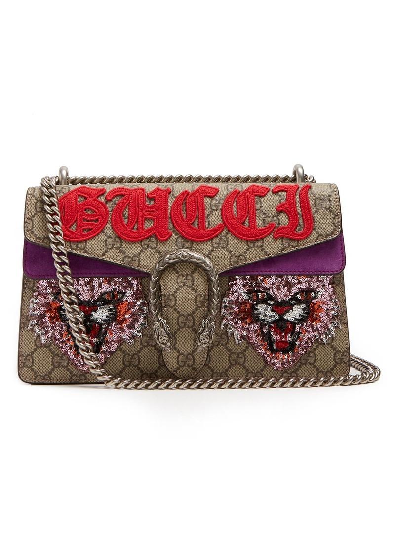 ac479f8f6078 Gucci Gucci Dionysus GG Supreme embellished shoulder bag | Handbags