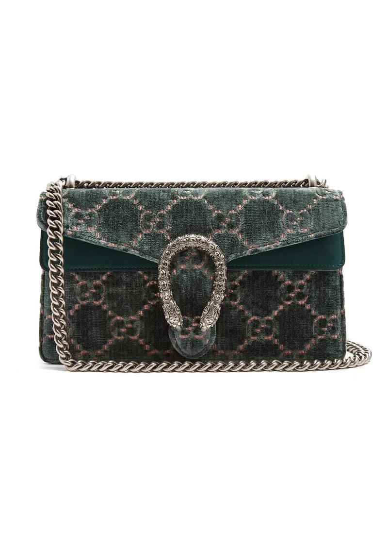 a190eeabf09e Gucci Gucci Dionysus GG velvet shoulder bag | Handbags