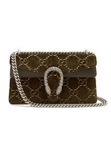 Gucci Dionysus GG velvet shoulder bag