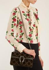 3b9ee5e84538 ... Gucci Dionysus GG velvet shoulder bag ...