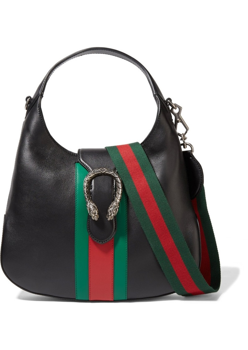 2ace3634625 Gucci Gucci Dionysus Hobo leather shoulder bag