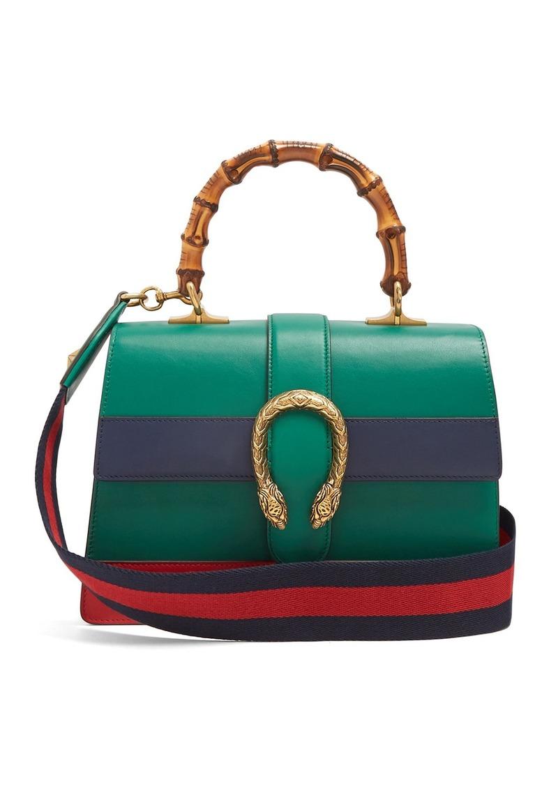 5adddfaf09f Gucci Gucci Dionysus medium bamboo-handle leather bag