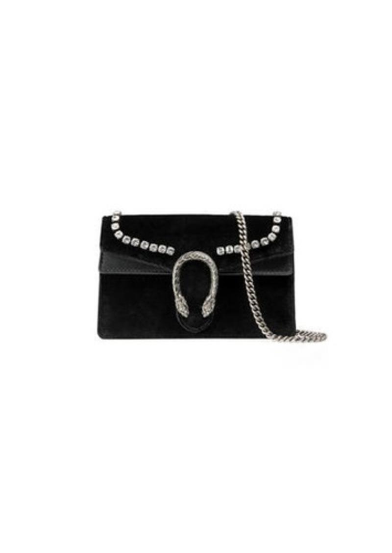 7b4effb98675 Gucci Gucci Dionysus Mini Velvet Wallet on a Chain | Handbags