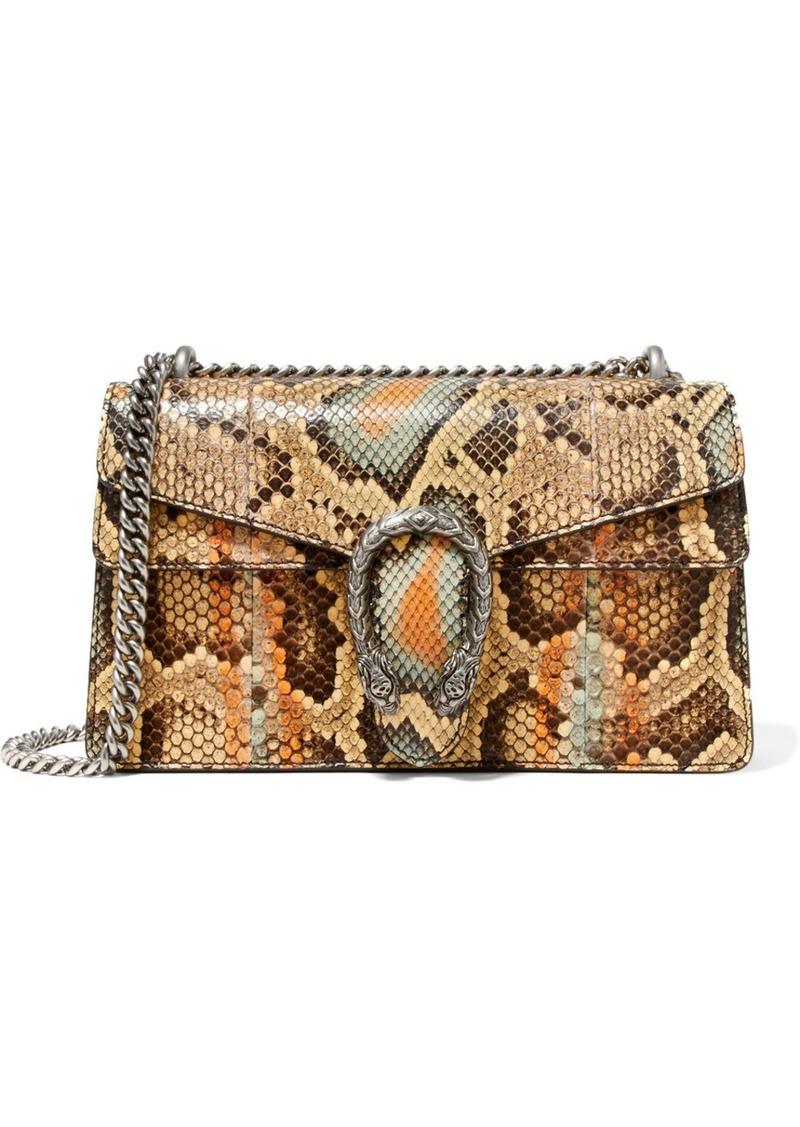 3001c676264797 Gucci Gucci Dionysus small python shoulder bag | Handbags