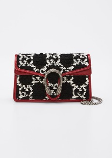 Gucci Dionysus Super Mini Tweed Crossbody Bag