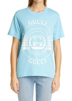 Gucci Disk Logo Women's Graphic Tee