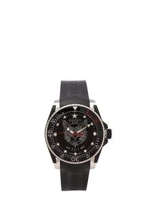 Gucci Dive Feline stainless steel watch