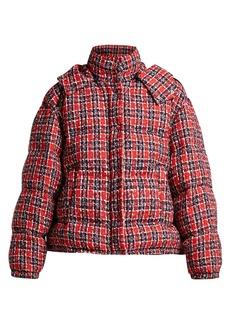 Gucci Down-filled tweed jacket