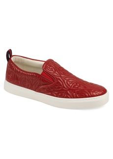 Gucci Dublin G Rhombus Quilted Sneaker (Men)