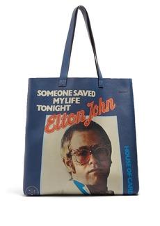 Gucci Elton John leather tote bag