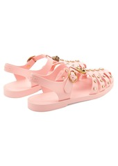 233efdf90 Gucci Gucci Embellished rubber sandals | Shoes