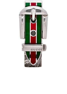 Gucci Enamel Buckle Money Clip