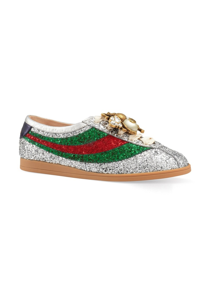 c50129981ac4 Gucci Gucci Falacer Glitter Sneaker (Women) | Shoes